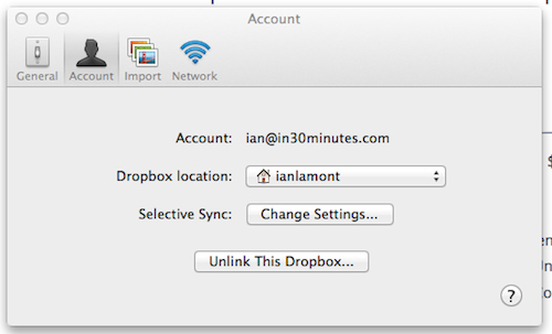 Not enough Dropbox storage? Try selective sync